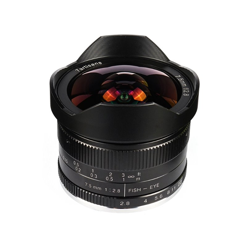 7Artisans 7.5mm f/2.8 APS-C Fisheye Fixed Lens[예약판매]