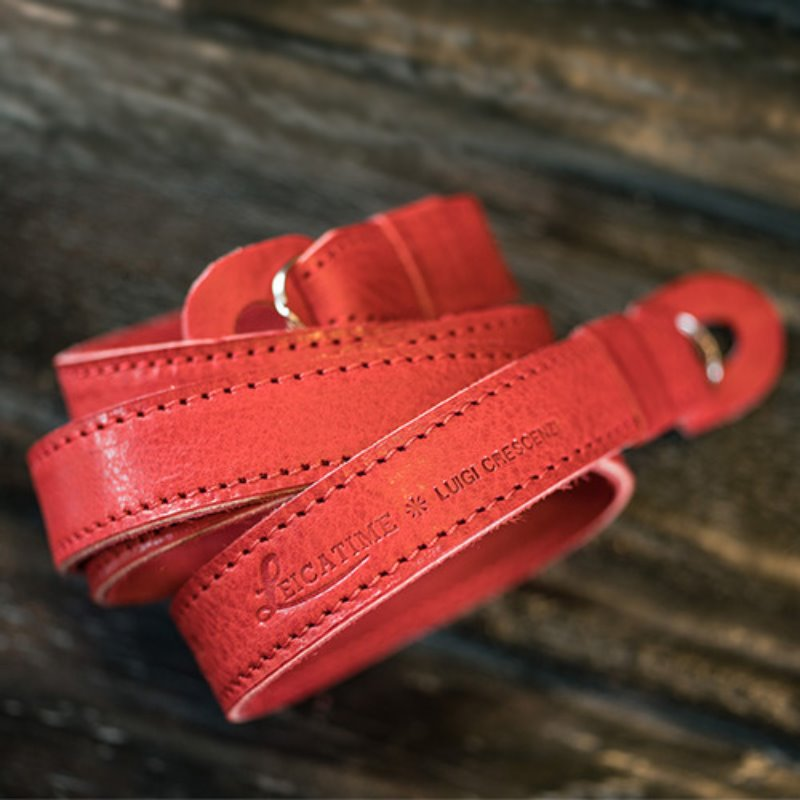 [루이지] Neck Strap Tazio (no Pad) Red