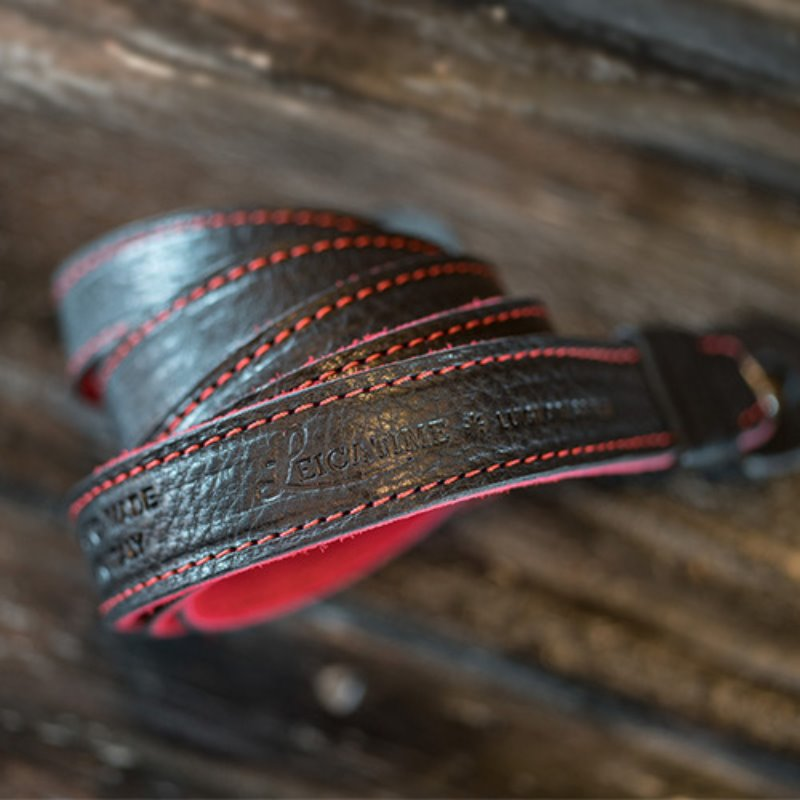[루이지] Neck Strap Tazio (no Pad) Black&Red