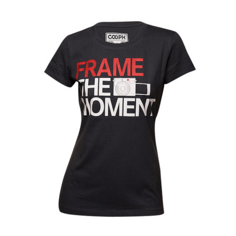 [COOPH] T-Shirt FRAME Dark shadow for Female (M) [진열품 40%할인]
