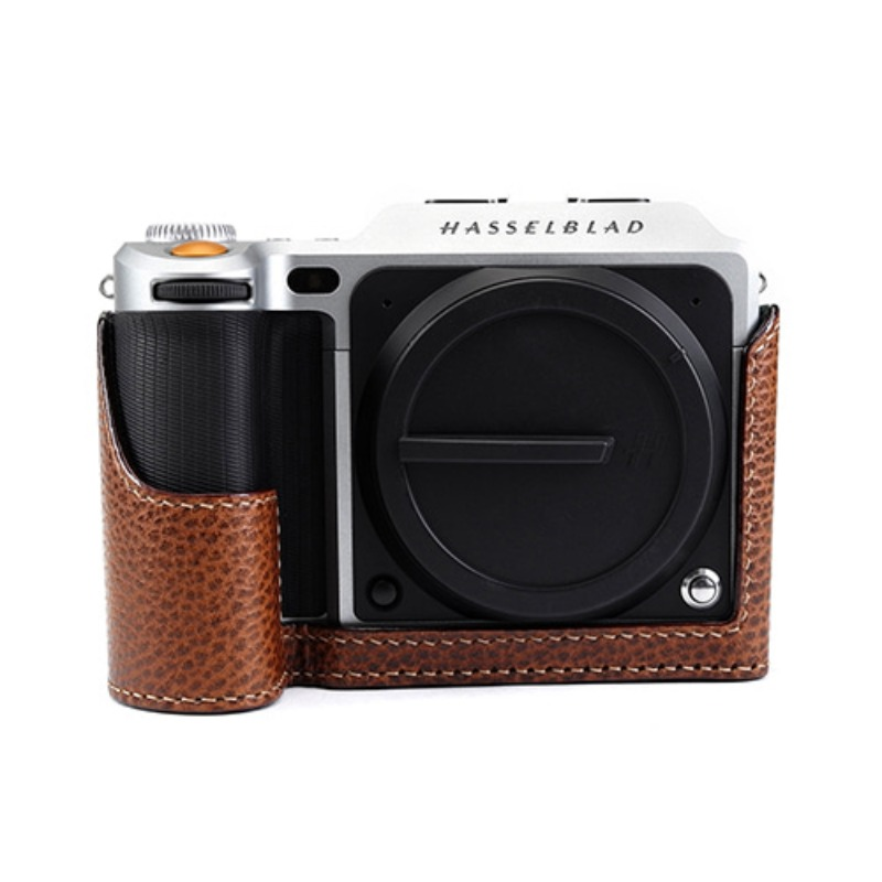 [JnK] Hasselblad Half case Battery Door Dollaro Tan for X1D