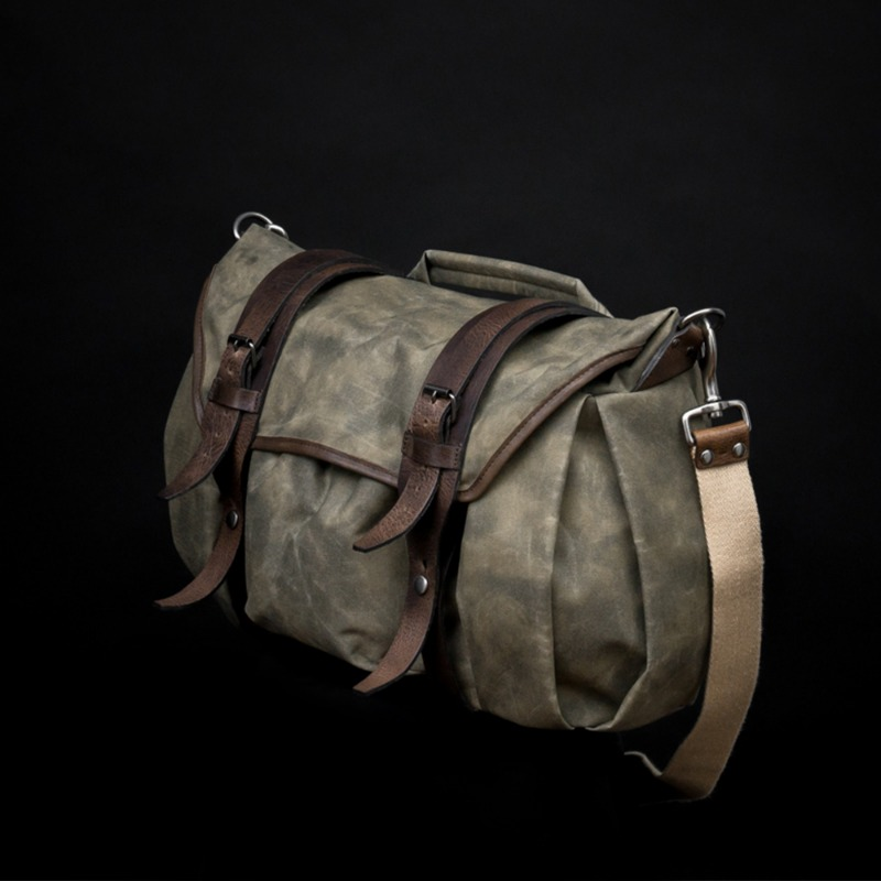 [WOTANCRAFT] TROOPER INTERIOR MODULE SHOULDER BAG - Ash green - XL