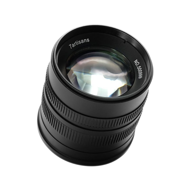 7Artisans 55mm f/1.4 APS-C Manual Fixed Lens Black [진열/리퍼 50%세일]