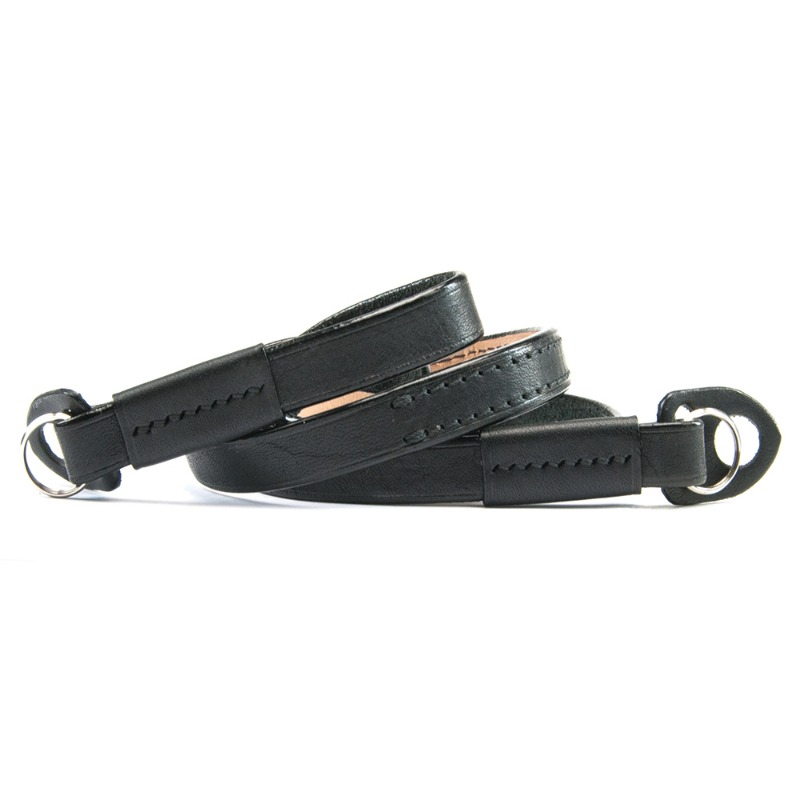 [JnK] Comodo Neck Strap (Minerva Black leather)