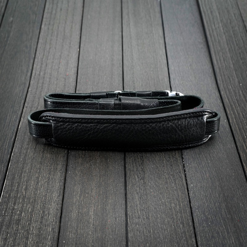 [루이지] Neck Strap Hassey 500 (with Pad) Black