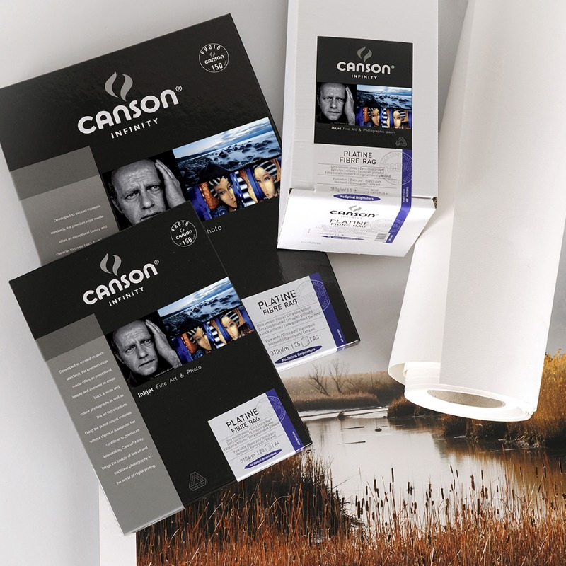 [CANSON®] INFINITY Platine Fibre Rag - 310g A4, A3, A3+, A2