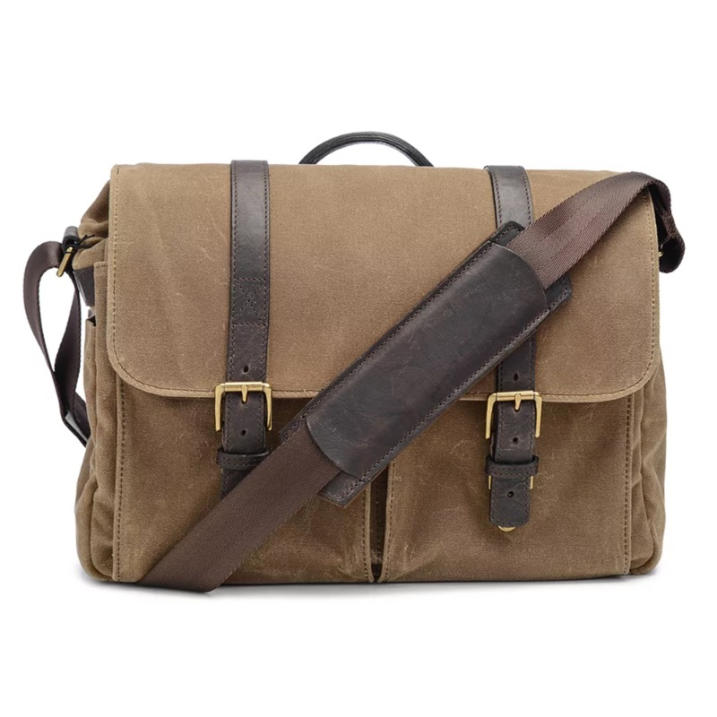 ONA Brixton for Leica Canvas filed tan