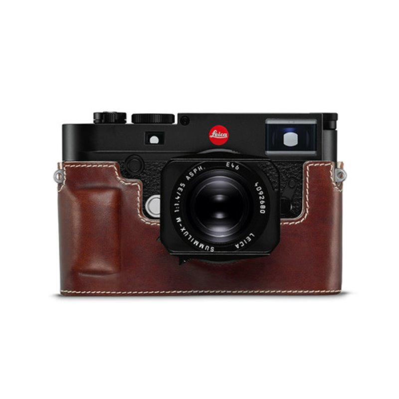 Leica M10 Leather Protector Vintage Brown