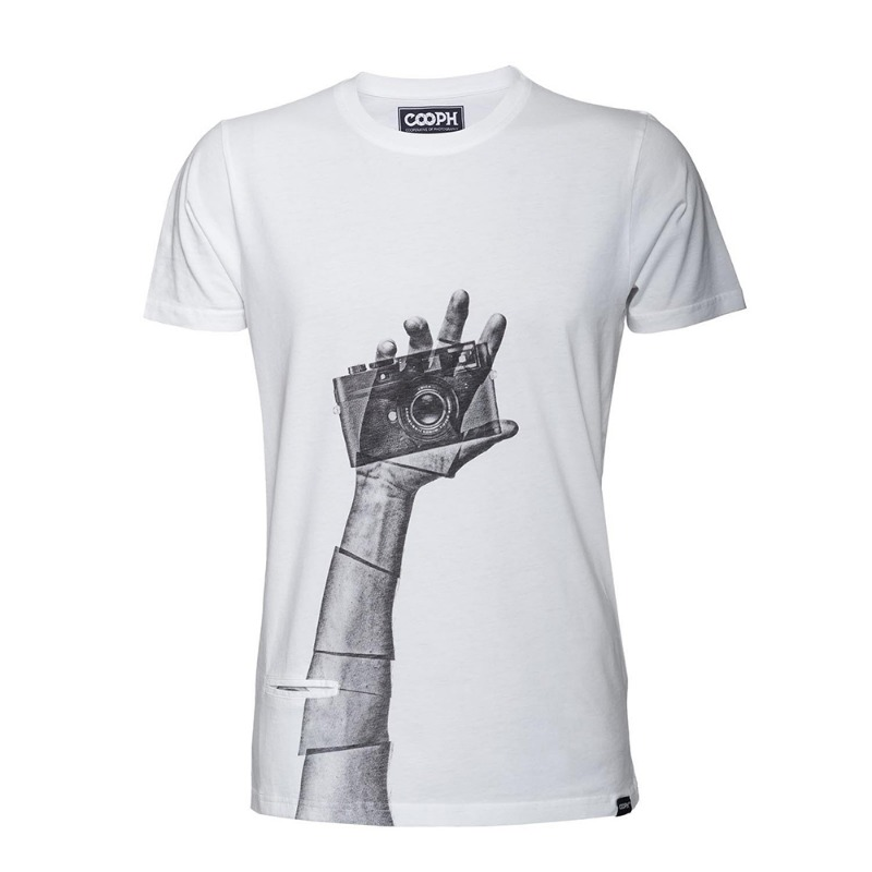 [COOPH] T-Shirt SNAPOGRAPHER White