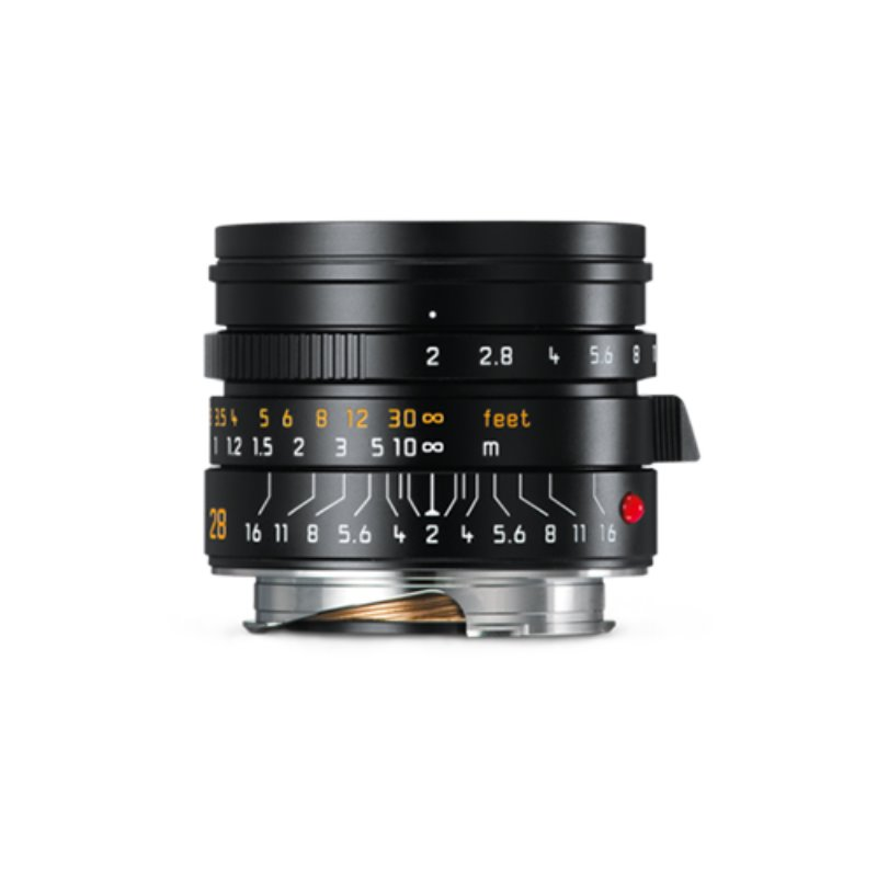 Leica NEW Summicron-M 28mm F/2 ASPH Black