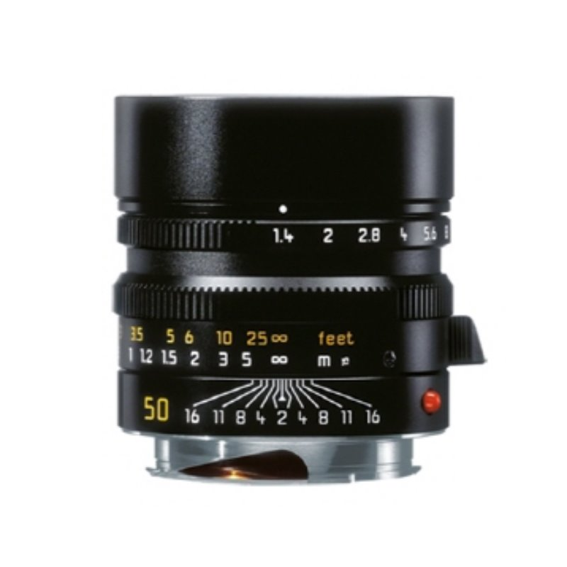 Leica Summilux-M 50mm f/1.4 ASPH 6 Bit Black