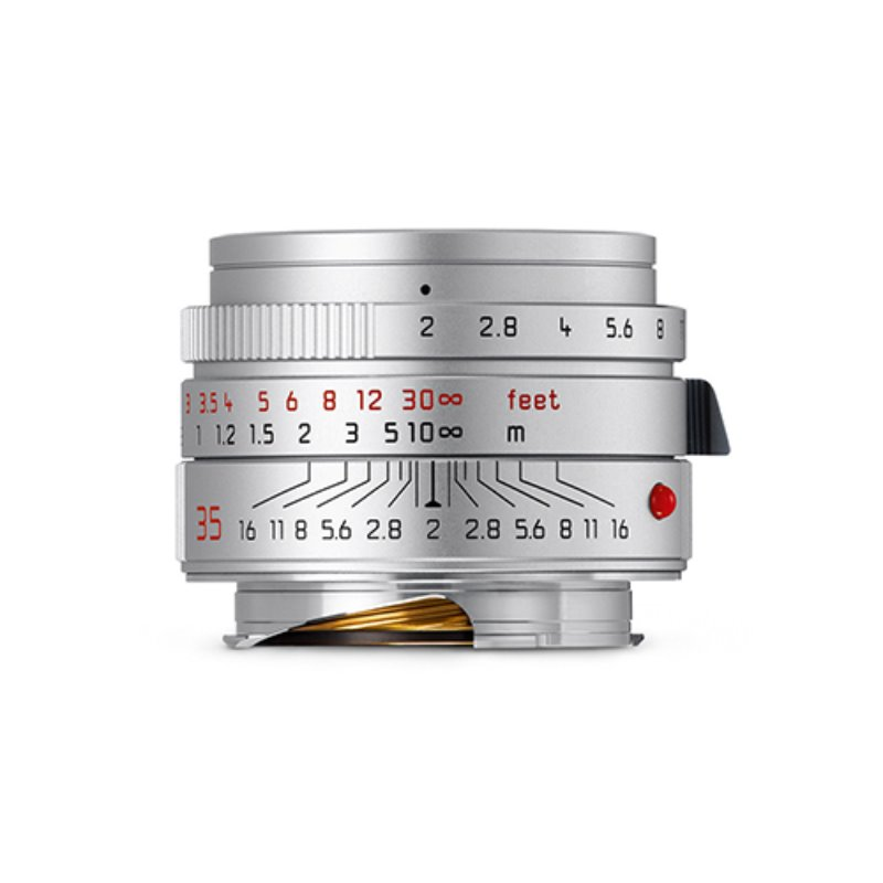 Leica NEW Summicron-M 35mm f/2.0 ASPH Silver