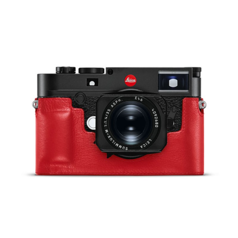 Leica M10 Leather Protector Red