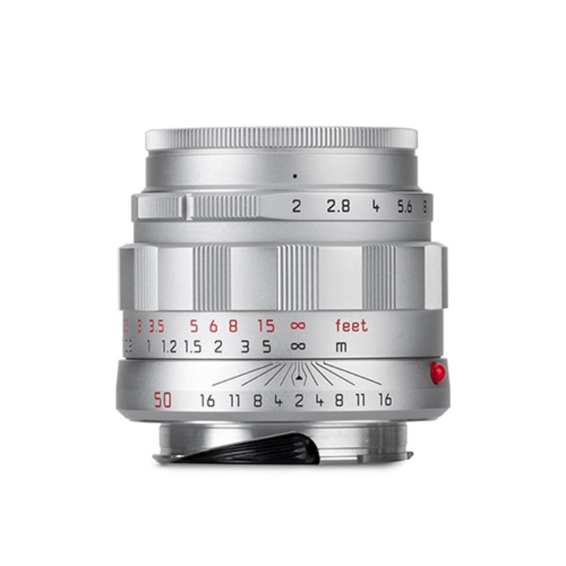 "Leica APO-Summicron-M 50mm f/2 ASPH ""LHSA Edition"" silver chrome finish"