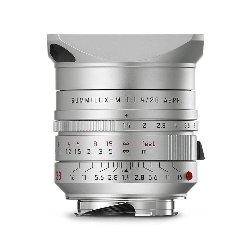Leica Summilux-M 28mm f/1.4 ASPH Silver anodized finish [예약판매]