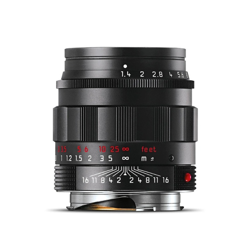 Leica Summilux-M 50mm f/1.4 ASPH Black Chrome Finish