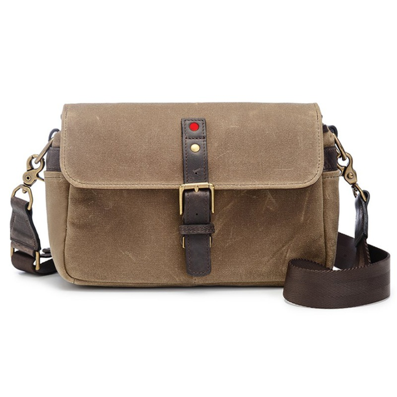 ONA Bowery for Leica Canvas Field Tan