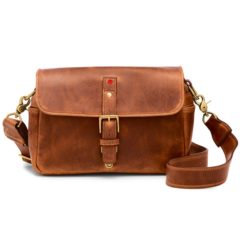 ONA Bowery for Leica Leather Anique Cognac